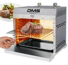 DMS Germany Vysoce výkonný topný plynový gril XXL DMS BG-02X - do 860°C