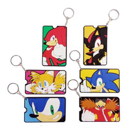 Brelok Sonic the Hedgehog - Gacha Bag Tags (losowy wybór)