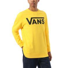 Vans férfi pulóver MN Vans Classic Crew Lemon Chrome