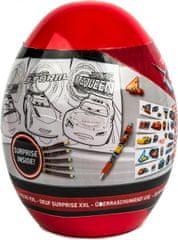 Canenco Cars Auta - XXL vajíčko s překvapením 20cm
