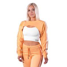 Better Bodies Crop Mikina Chrystie oranžová