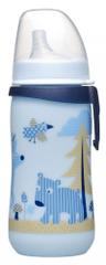 NIP Fľaša First cup, 330 ml, silikón. cumlík na pitie