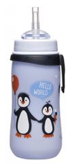 NIP láhev Straw cup, 330 ml, s brčkem