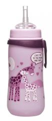 NIP fľašu Straw cup, 330 ml, so slamkou