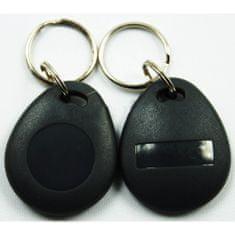 Sebury Bezkontaktní RFID EM čip se zvýšenou odolností, černý
