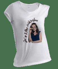 Branky Body Kokoti dámské tričko Já se z toho vobkreslim