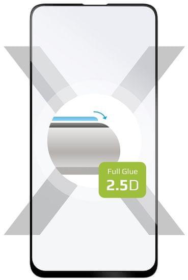 Fixed Ochranné tvrdené sklo Full-Cover pre Apple iPhone X/XS/11 Pro, lepenie cez celý displej, čierne FIXGFA-230-BK