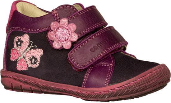 Szamos dievčenská obuv 1553-40821 24 tmavo fialová