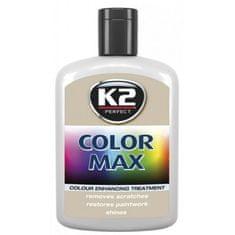 K2 barvna pasta z voskom Color Max, 200 ml, bela