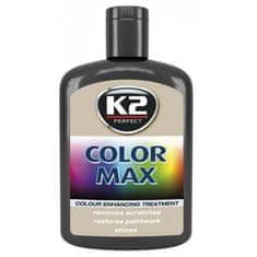 K2 obojena pasta s voskom Color Max, 200 ml, crna
