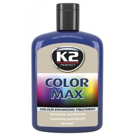 K2 obojena pasta s voskom Color Max, 200 ml, plava