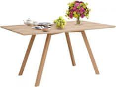 Danish Style Jídelní stůl Alex, 120 cm, dub