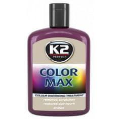 K2 obojena pasta s voskom Color Max, 200 ml, bordo crvena