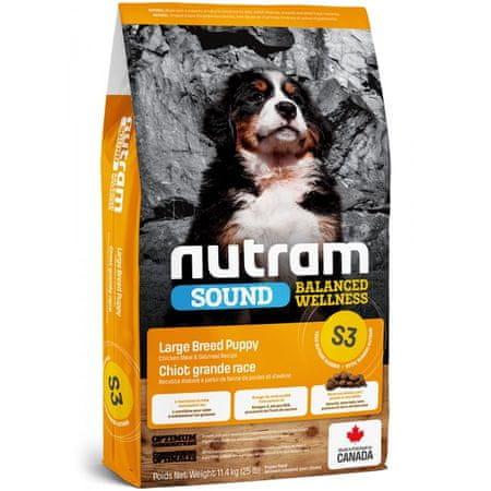 Nutram Sound Large Breed Puppy 11,4 kg