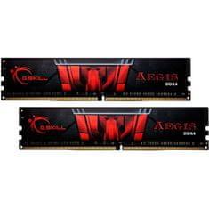 G.Skill Aegis pomnilnik, DDR4 32 GB (2x16GB), 3000 MHz, CL16 (F4-3000C16D-32GISB)