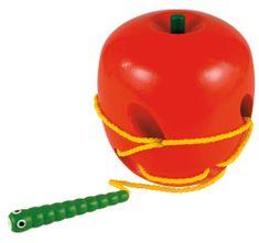 Woody Navojna jabuka sa crvom
