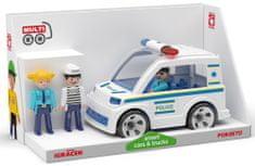 Multigo Igráček Trio Policie