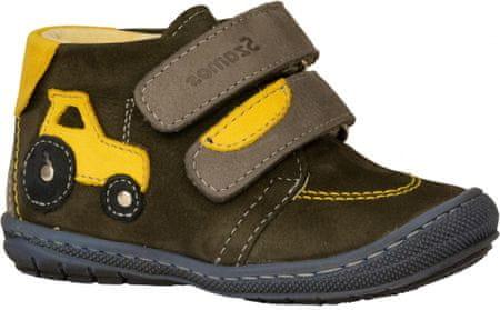 Szamos fiú cipő 1552-10831, 21, barna