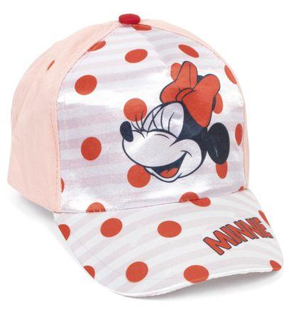 Disney dekliška kapa s šiltom Minnie