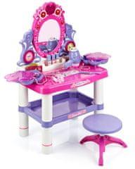 iMex Toys Dětský toaletní stolek s otočným zrcadlem