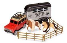 Wiky Kôň s autom set