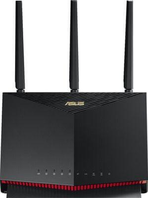 Router Asus RT-AX86U (90IG05F1-MO3G10) 2,4 GHz 5 GHz RJ45 LAN WAN Wifi 6
