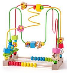 Woody Motorický labyrint s počítadlom a zvieratkami