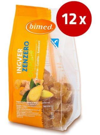 Bimed ingver, kandiran, 12 x 200 g