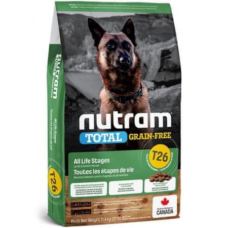 Nutram Total Grain Free Lamb, Legumes Dog, 11,4 kg