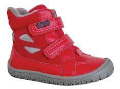 Protetika dívčí flexi barefoot obuv ELIS RED 72017