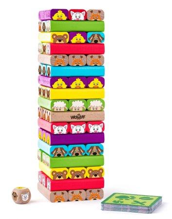 Woody Sammy torony játék állatkákkal