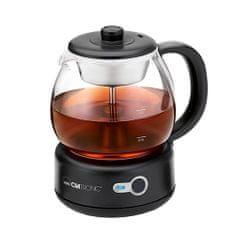 Clatronic herbaty, TK 3715, bezprzewodowy, 1 l, szkło