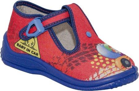 Zetpol papuče za dječake Piotrus 705, 26, crvene