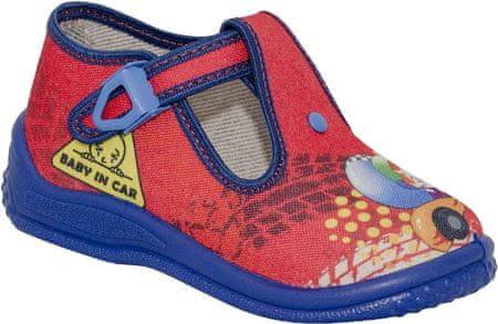 Zetpol papuče za dječake Piotrus 705, 25, crvene