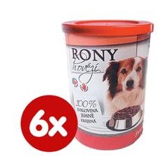 FALCO karma mokra dla psa RONY wołowina 6x400 g
