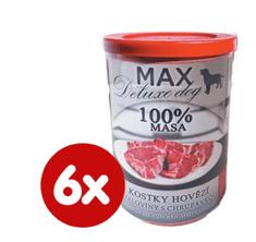 FALCO MAX deluxe kocky hovädzej svaloviny s chrupavkou 6 x 400 g