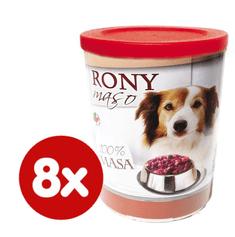 FALCO karma mokra dla psa RONY mięso 8x800 g