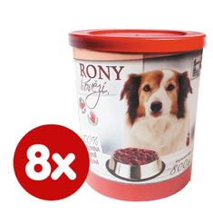 FALCO karma mokra dla psa RONY wołowina 8x800 g