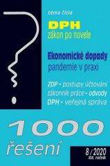 autorů kolektiv: 1000 řešení 8/2020 - Zákon o DPH po novele, Ekonomické dopady pandemie