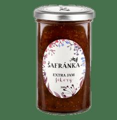 Marmelády Šafránka Extra džem fíkový 300g