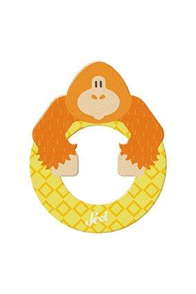 Sevi črka O - žival, rumena