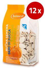 Bimed bučna semena, pražena, soljena, 12 x 150 g