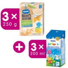 Nestlé Mléčná kaše Pšenično-ovesná 3x250g