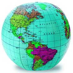 Learning Resources Nafukovacia lopta - svet