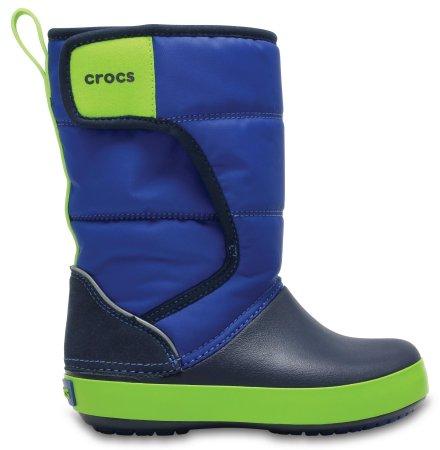Crocs otroška obutev za sneg Kids' LodgePoint Snow Boot 204660-4HD, 23-24, modri