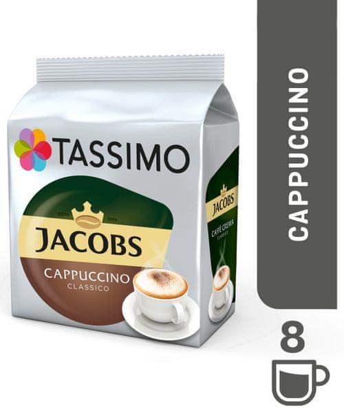 Jacobs Tassimo Krönung Cappuccino káva v kapsulách
