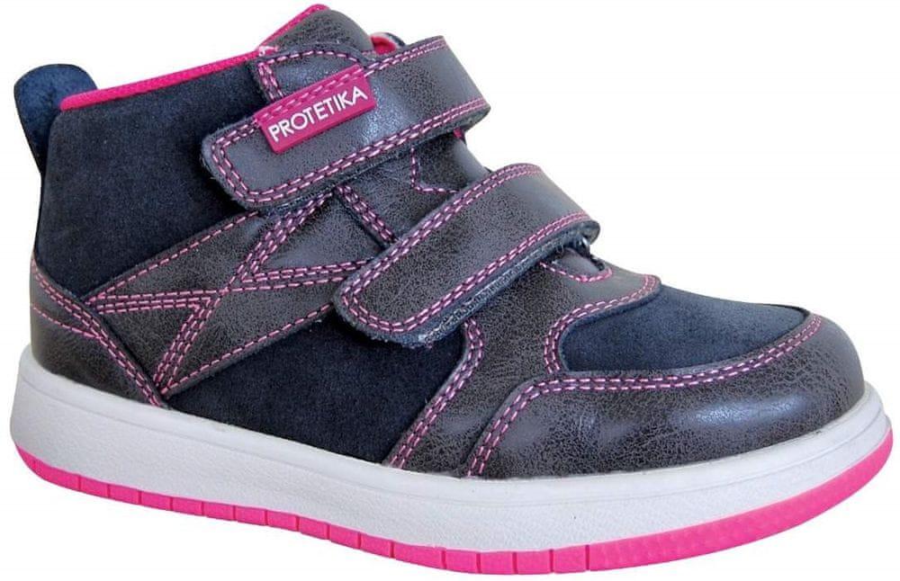 Protetika dievčenská celoročná obuv RITA GREY 72017 27 šedá