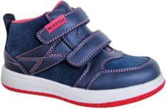 Protetika egész évre alkalmas kislány cipő RITA NAVY 72017
