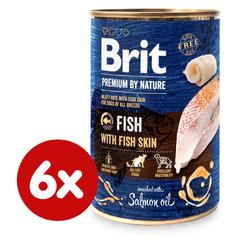 Brit Premium by Nature Fish with Fish Skin 6 x 400 g