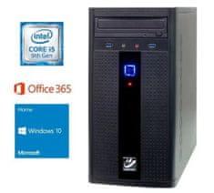 mimovrste=) namizni računalnik i5-9400/8GB/SSD240GB/Win10Home (PC-G285W365-M)